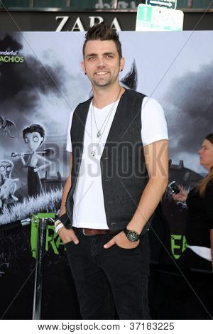 LOS ANGELES - SEP 24:  Adam Chambers arrives at the