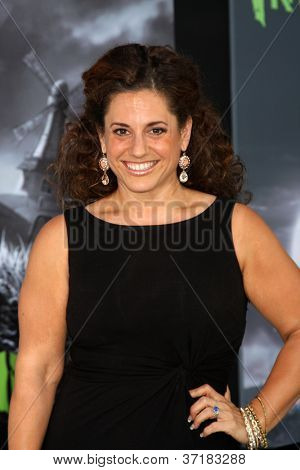 LOS ANGELES - SEP 24:  Marissa Jaret Winokur arrives at the