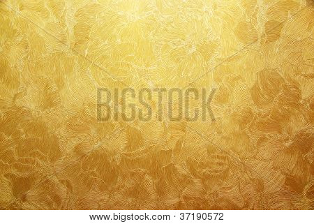 Gold background texture. Element of design.
