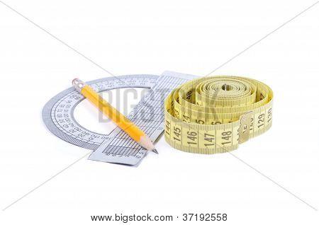 Ruler Protractor