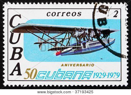 Postage stamp Cuba 1979 Sikorsky S-38, Airplane