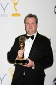 LOS ANGELES - SEP 23:  Eric Stonestreet in the press room of the 2012 Emmy Awards at Nokia Theater o