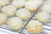 Coconut macaroons christmas cookies