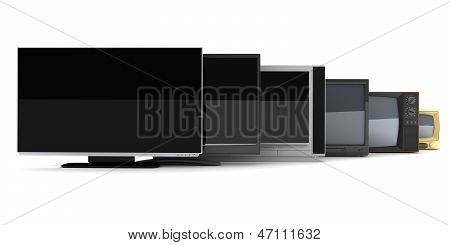 Tv evolução