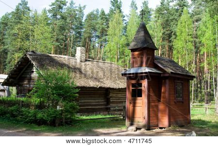 Tiny Wooden Church