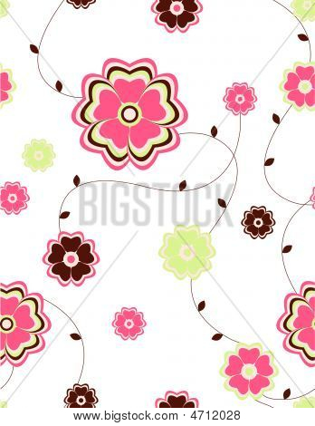 Flowers Seamless