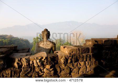 Early Morning At The Borobudur