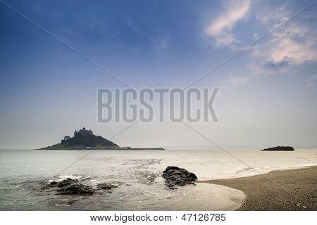 St Michael's Mount Bay Marazion long exposure landscape