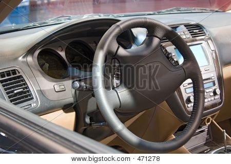 Transportation - Auto Show Inside Car