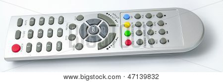 Digital media receiver Remote control from side