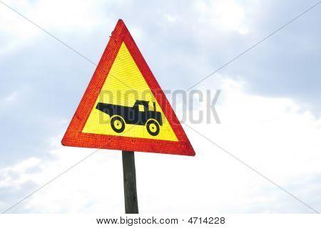 Road Sign - Truck