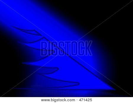 Mystical Blue Glow