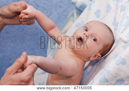 Massage Newborn Baby