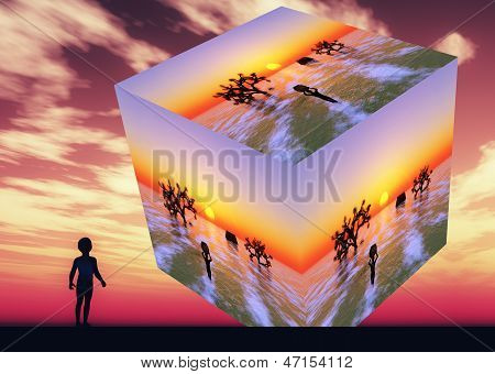 Visión futurista