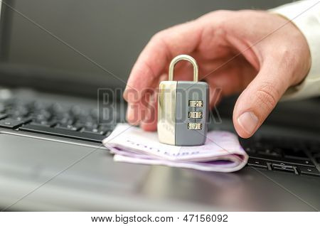 Hacker Trying To Steal Ones Money