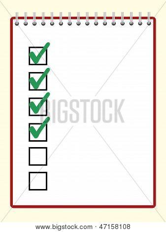 Notepad Ticks