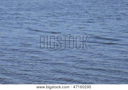 Hintergrund des blauen Wasser.