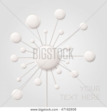Digital Flower Background
