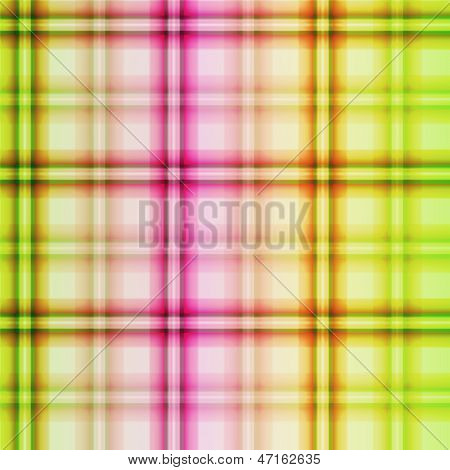 Bright Fuzzy Checkered Seamless Pattern