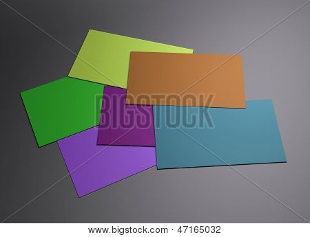 Many Colorful 2 Namecard