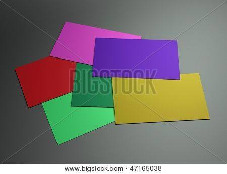 Many Colorful 3 Namecard
