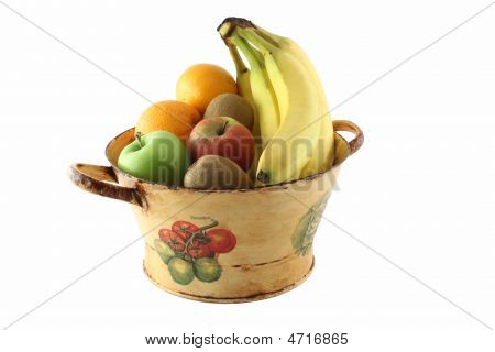 Bright Fruit Basket