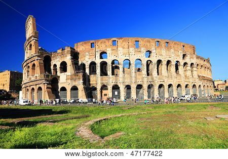 Colosseum in Rome, Italy, Europe