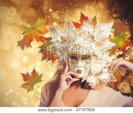Carnival Fashion Autumn Woman