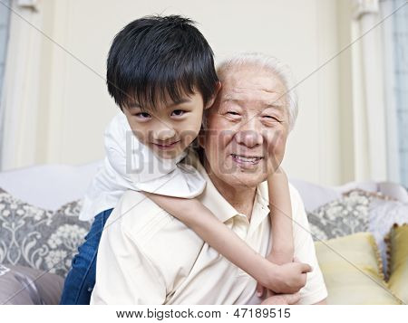 Grandpa And Grandson