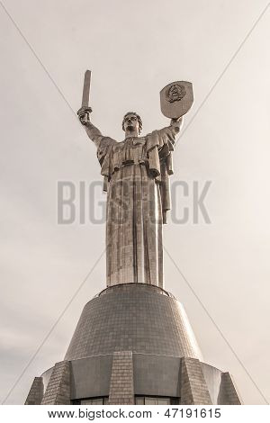 Monument of the Motherland, Kiev, Ukraine
