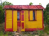 Colorful Home In Antigua