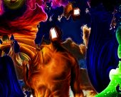 image of dadaism  - Surreal Abstract with human elements - JPG