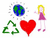 Child's Love For Earth