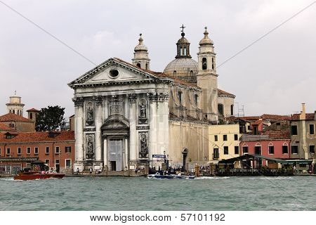 St Mary Of The Rosary Church In Venice, Italy