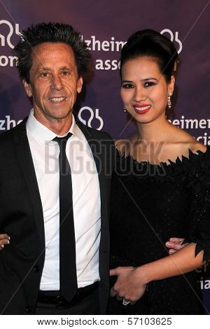 Brian Grazer and Chau-Giang Thi Nguyen at the 19th Annual