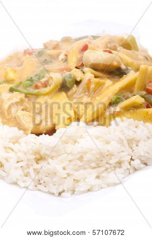 Coconut Chicken With Rice