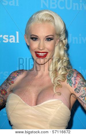 Sabina Kelley at the NBCUNIVERSAL Press Tour All-Star Party, The Athenaeum, Pasadena, CA 01-06-12