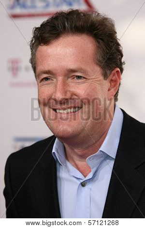 Piers Morgan at the 2011 T-Mobile NBA All-Star Game, Staples Center, Los Angeles, CA 02-20-11