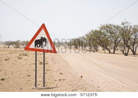 PRECAUCIÓN: los elefantes
