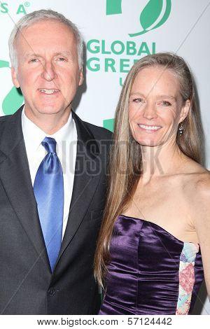James Cameron, Suzy Amis at Global Green USA's 8th Annual Pre-Oscar Party, Avalon, Hollywood, CA. 02-23-11