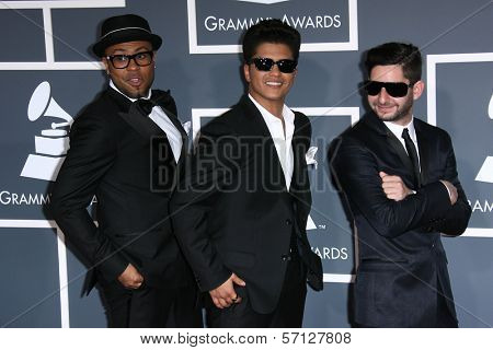 Bruno Mars  at the 53rd Annual Grammy Awards, Staples Center, Los Angeles, CA. 02-13-11