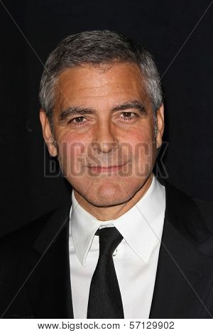 George Clooney at the 23rd Annual Palm Springs International Film Festival Awards Gala, Palm Springs Convention Center, Palm Springs, CA 01-07-12