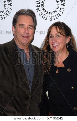 Beau Bridges and wife at the premiere of American Masters - Jeff Bridges: The Dude Abides, Paley Center for Media, Beverly Hills, CA. 01-08-11