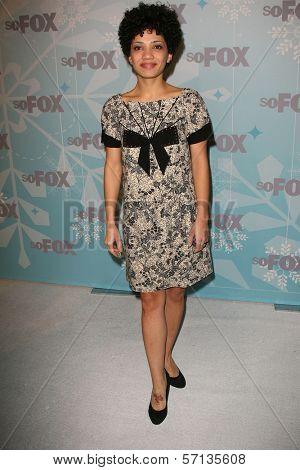 Jasika Nicole at the 2011 FOX Winter All-Star Party, Villa Sorriso, Pasadena, CA. 01-11-11