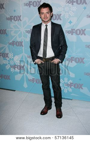 Elijah Wood at the 2011 FOX Winter All-Star Party, Villa Sorriso, Pasadena, CA. 01-11-11