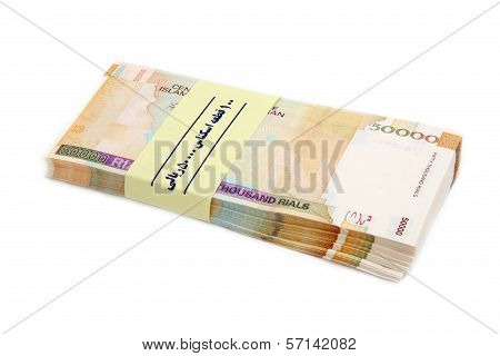 Bunch Iranian Money
