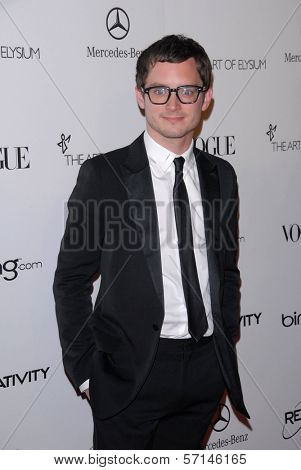 Elijah Wood at the 2011 Art Of Elysium