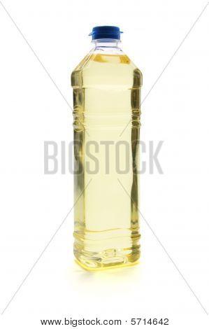 Bottle Of Vegetable Oil