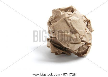 Scrunched Paper Bag