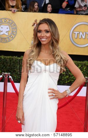 Giuliana Rancic at the 17th Annual Screen Actors Guild Awards, Shrine Auditorium, Los Angeles, CA. 01-30-11